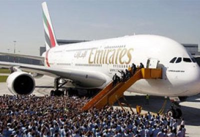 Emirates takes milestone delivery of 50th A380 aircraft