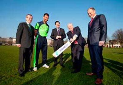 Tourism Ireland announced its sponsorship of the Ireland cricket team