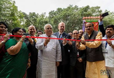 PATA Travel Mart 2015 (PTM2015) officially opened in Bangalore