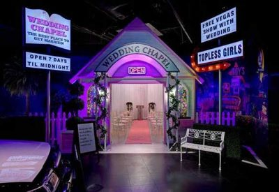 Madame Tussauds Las Vegas Debuts World's First Hangover Wedding Chapel