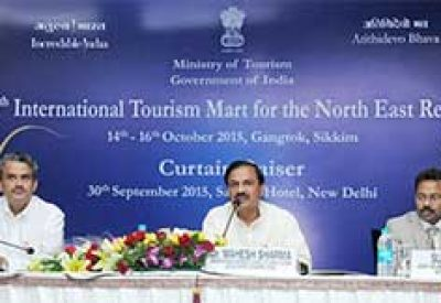 Fourth International Tourism Mart to be held in Gangtok from 14th-16th October, 2015