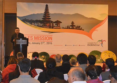 "The Ministry of Tourism of Indonesia (MoT) continues to aggressively promote ""Wonderful Indonesia"""