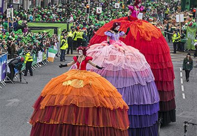 It's St Patrick's Festival – roll out the green carpet