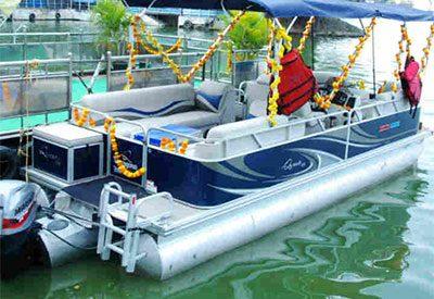 Telangana tourism introduces luxury catamaran yacht rides on Hussain Sagar