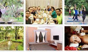 Yoga and Ayurveda Retreat at Kerala by Lakshya Yoga