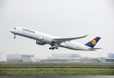 Lufthansa brings world's most modern aircraft A350-900 to Delhi