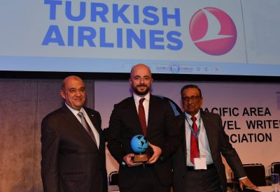 "Turkish Airlines has won PATWA International Award for ""Best  Airline – Best Inflight Catering"" category at ITB Berlin 2017."