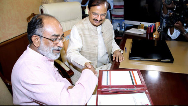 Alphons takes charge of Tourism Ministry